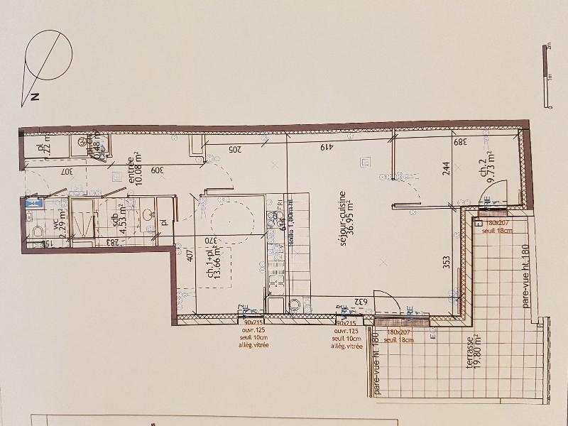 Erlon immobilier : T3 78.94 m² 1er étage