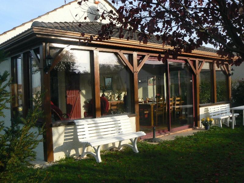Erlon immobilier : Jardin + Véranda