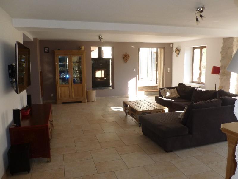Erlon immobilier : Grand séjour avec cheminée