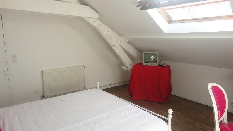 Erlon immobilier chambre mansardée de 17 m² au sol mitoyenne à la SDB